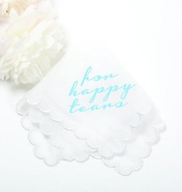 For Happy Tears Hankrchief