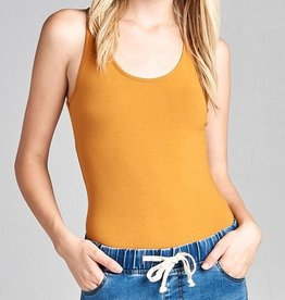 Better Than The Rest Bodysuit- Mustard
