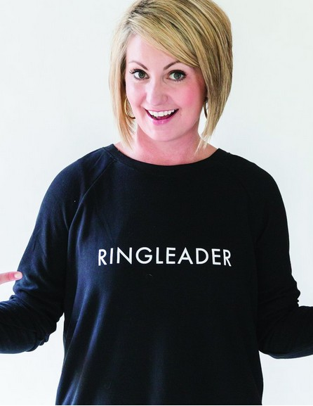 Sweatshirt Ringleader- Black
