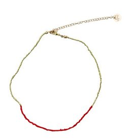 Necklace Napa-Red