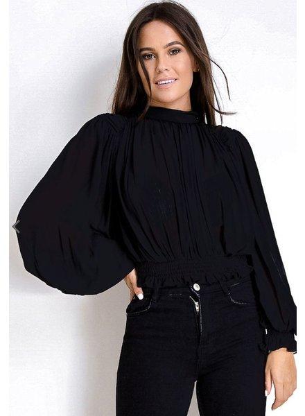 Long Sleeve Top Black