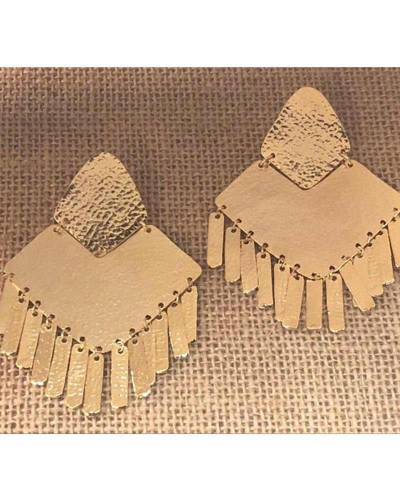 Gold earrrings