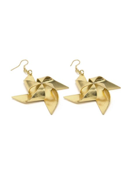BIG PINWHEEL EARRINGS