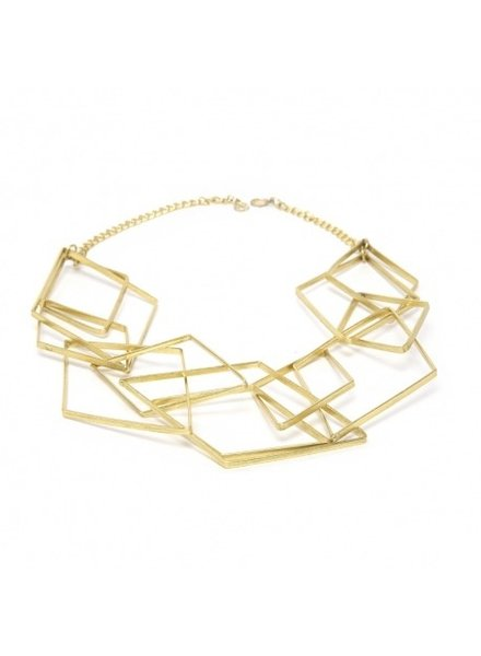 RHOMBUSES NECKLACE