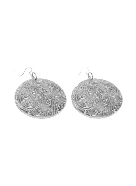 EARRINGS RONDE CACHEMIRE