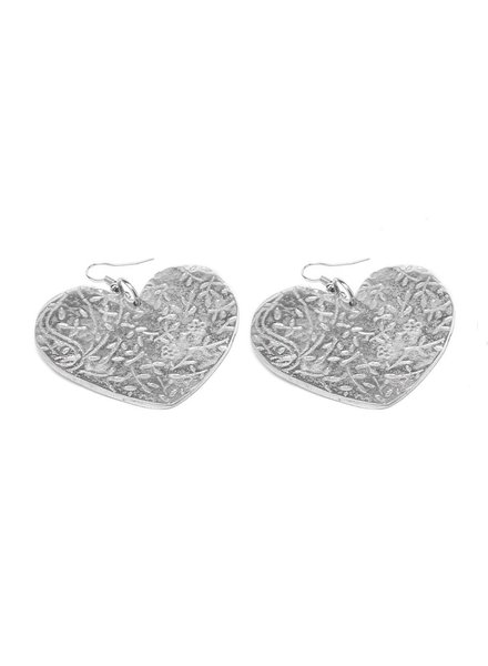 EARRINGS COEUR CACHEMIRE