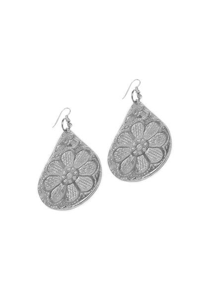 EARRINGS GOUTTE FLEUR