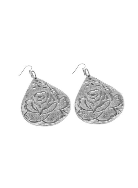 EARRINGS GOUTTE ROSE