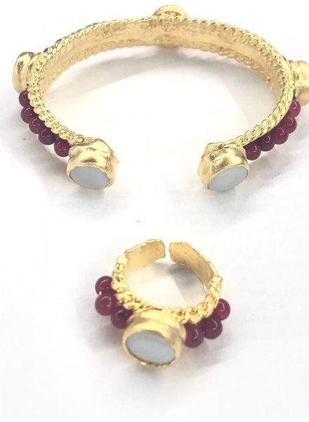 set Cuff and Ring
