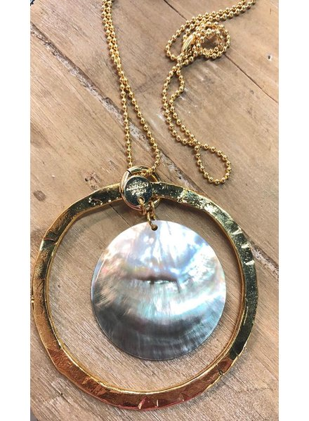 Mother Pearl Long Necklace