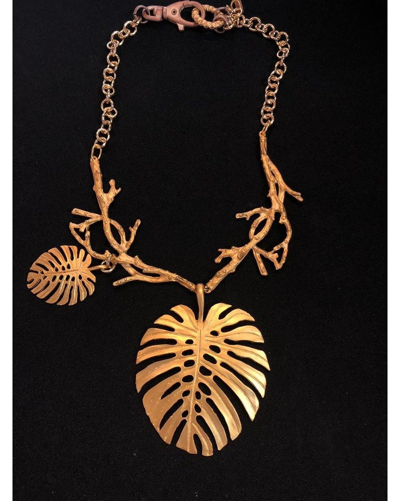 Gypsy Leaves Necklace