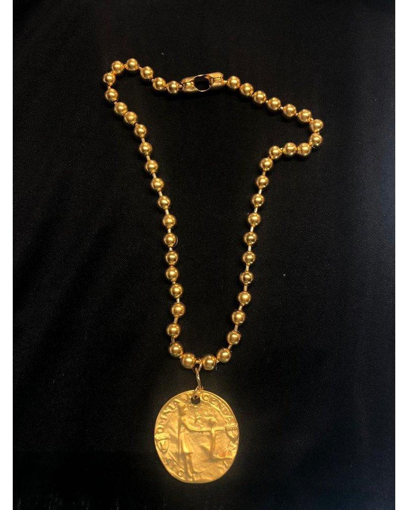 4 soles necklace