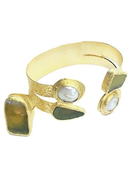 set brazalet and ring