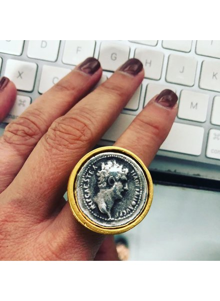 Coin Ajustable Ring