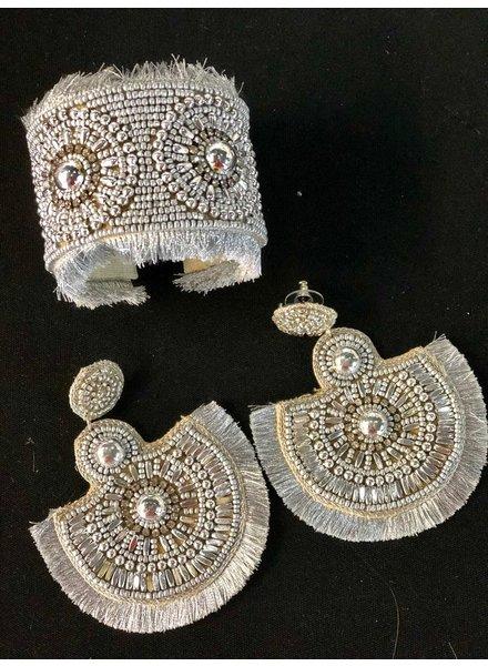 Bead Earrings Hand Made