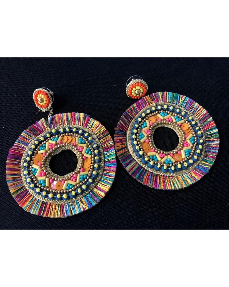 Bead Hand Made earring
