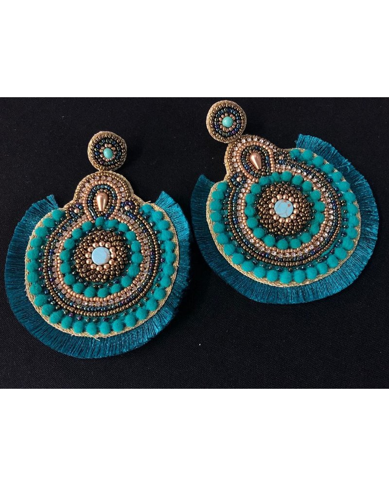 Bead Hand Made Earrings