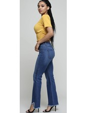 High waist Denim Pant