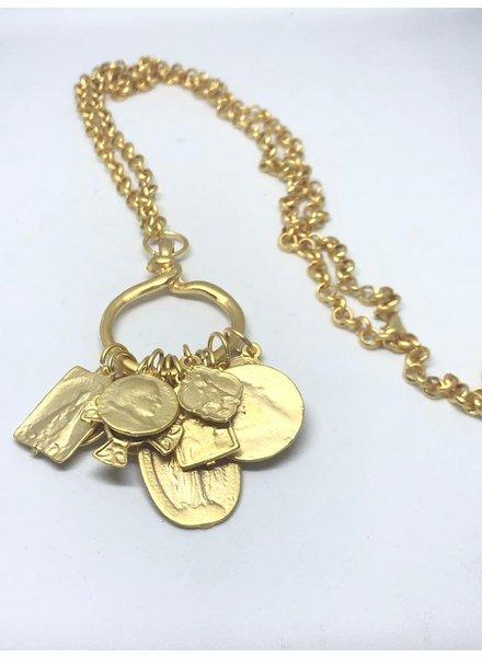 Saints long Necklace