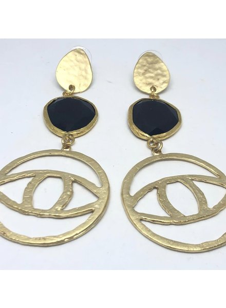 Eye Earrings