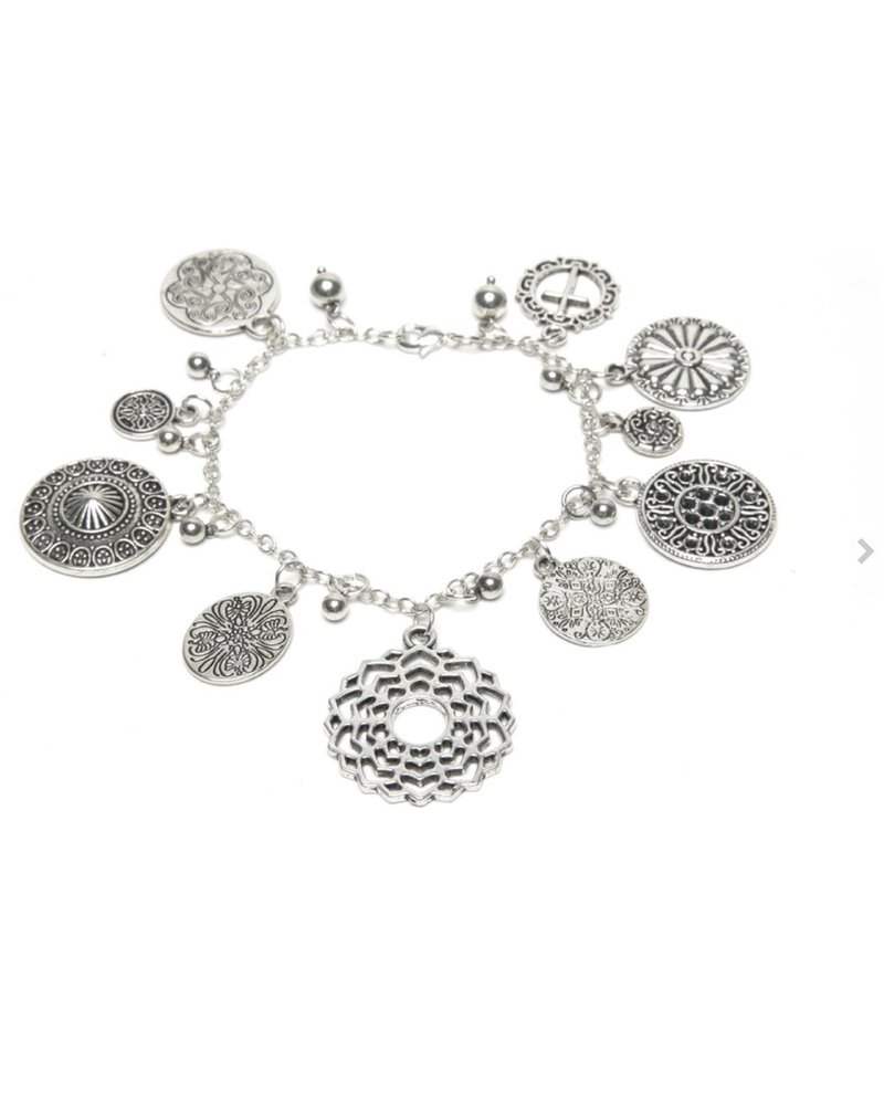 BRACELET ARABESQUE CHARMS