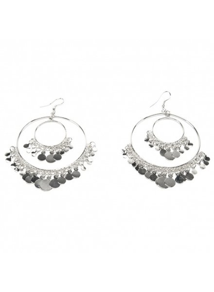 EARRINGS MEDIUM COINS