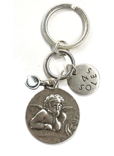 angel key chain 4 soles