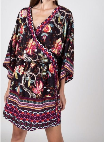 Bohemian kimono Dress<br /> final sale