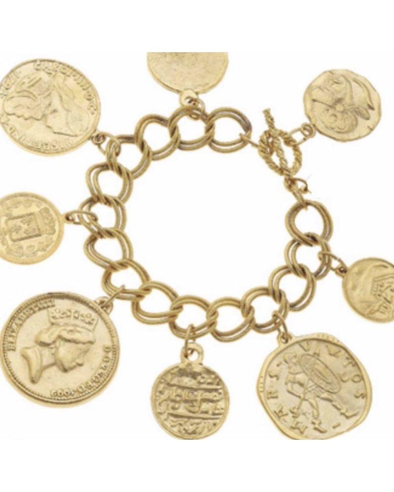Coin Brazalet