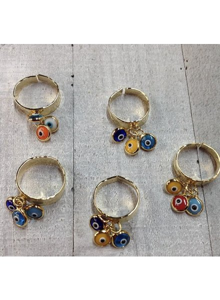 3 eye adjustable ring