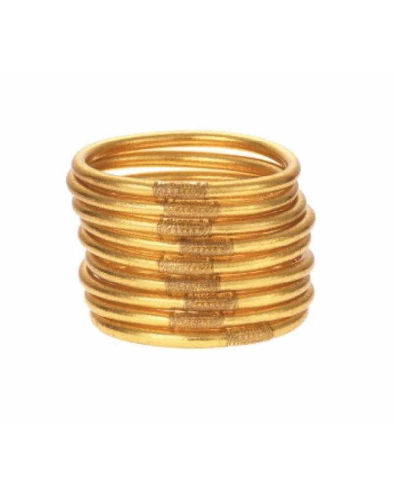 All Weather Gold Bangles