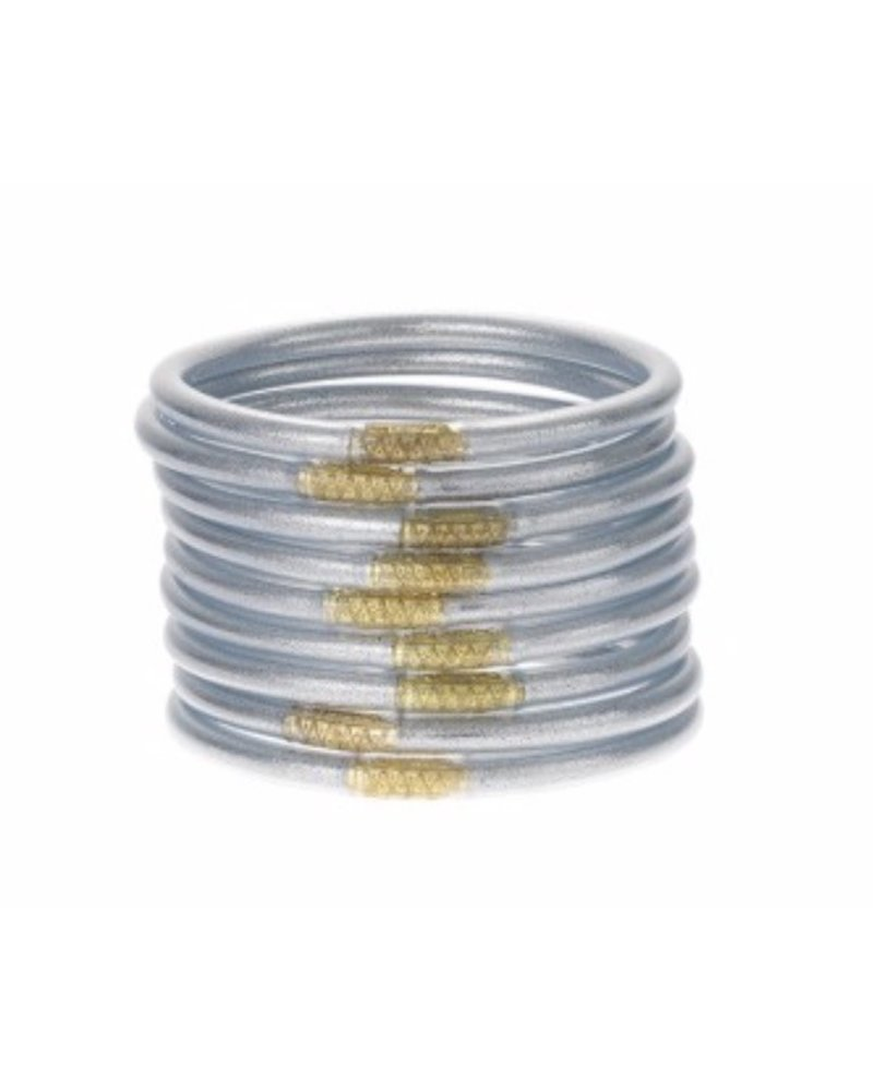 All Weather Silver Bangles  Silver