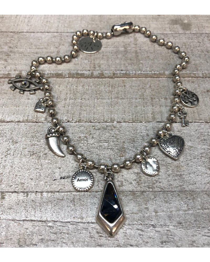 Collar Charms 4 soles