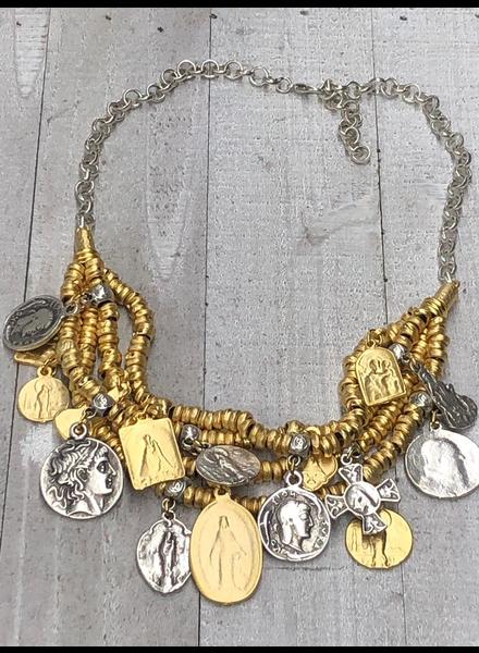 virgins necklace