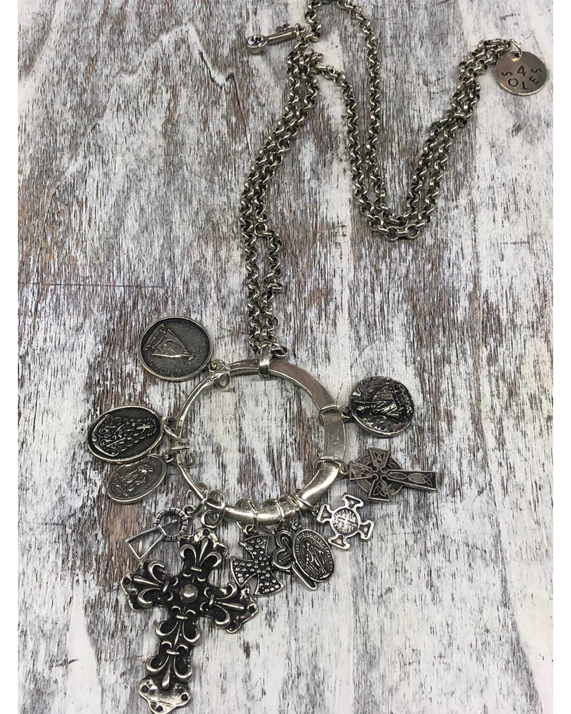 Madonna Long Necklace