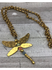 Long Necklace Dragonfly