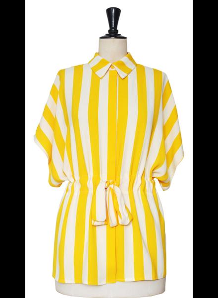 yellow or green stripe Top
