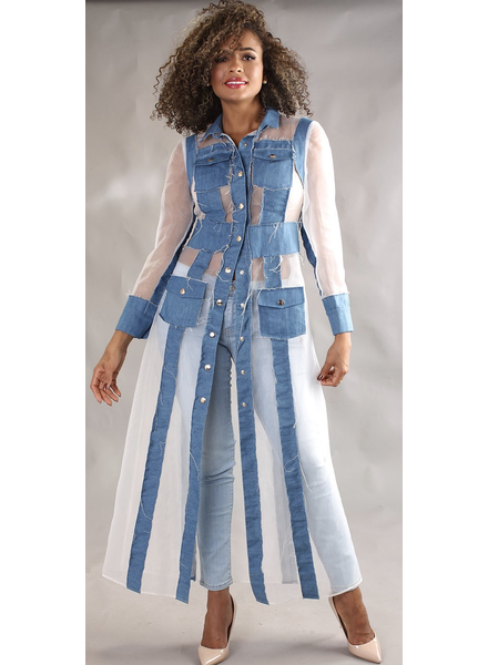 Denim Long Jacket(pre order sale)
