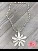 Big Flower 4 Amores Necklace