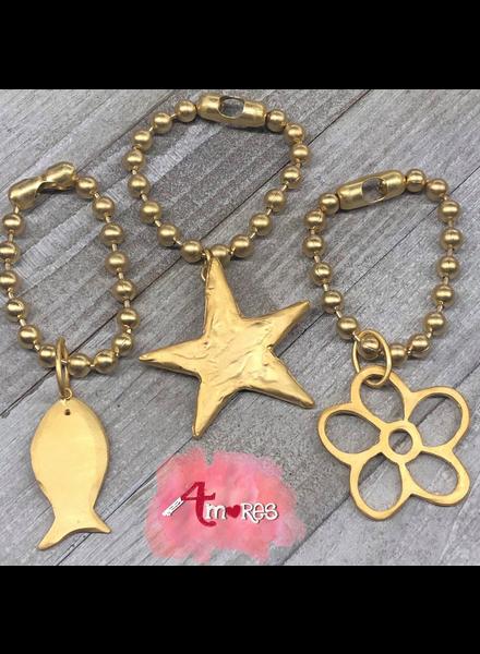 4 Amores Gold Brazalet