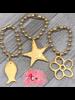 4 Soles Gold Brazalet