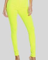 Skinny Neon Yellow Pant
