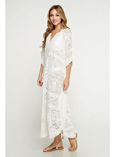Lace caftan Dress