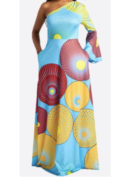 PRINTED STRETCHY DRESS