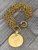 4 Amores big Coin Brazalet