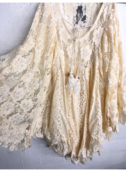 Lace over size Tunic