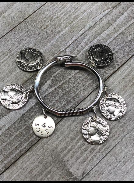 Caesar medalls  Brazalet by 4 soles