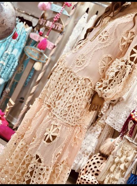 Alaia Dress Cream