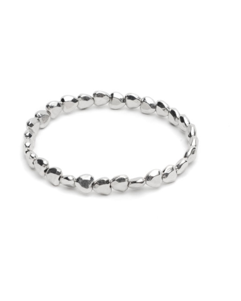 ELASTIC BRACELET DIAMOND HEARTS