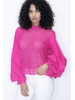 Fucsia top